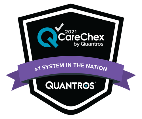 #1 System in the Nation  - Medical Excellence