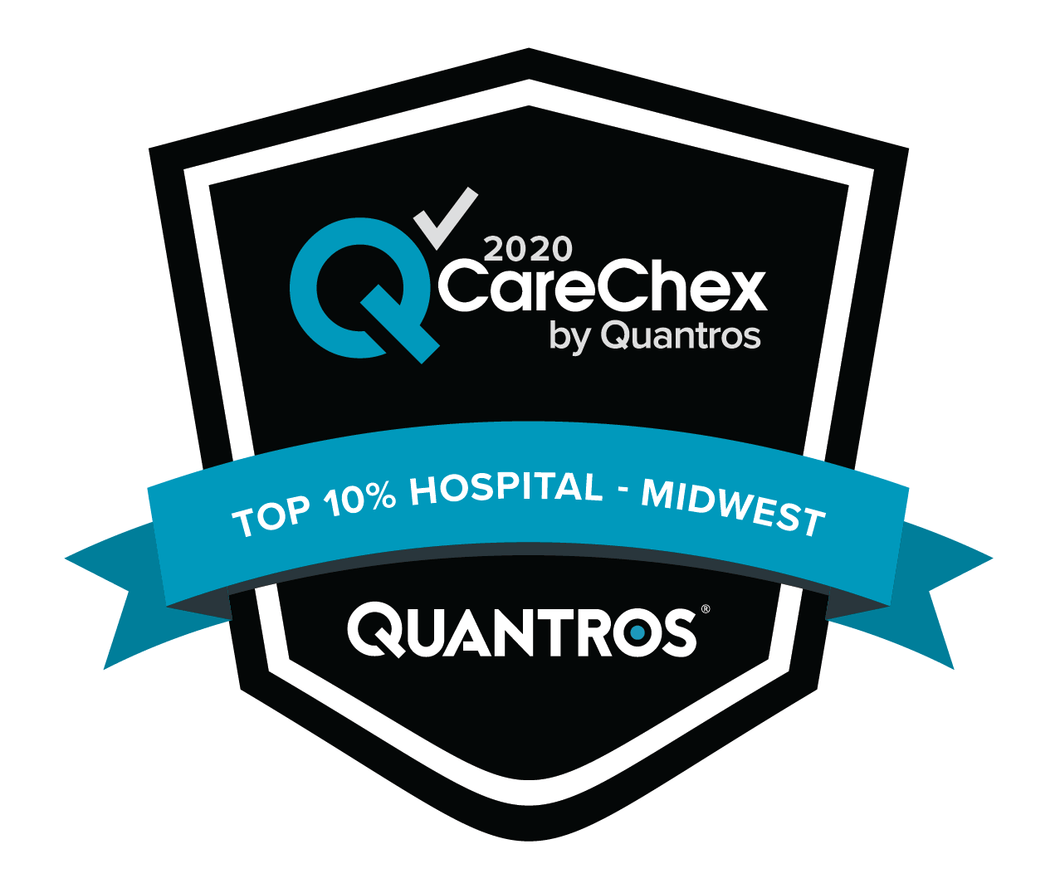 Top 10% Hospital in the Midwest - Patient Safety
