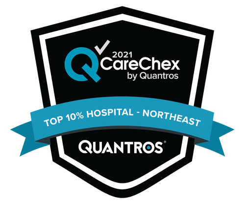 Top 10% Hospital in the Northeast - Patient Safety