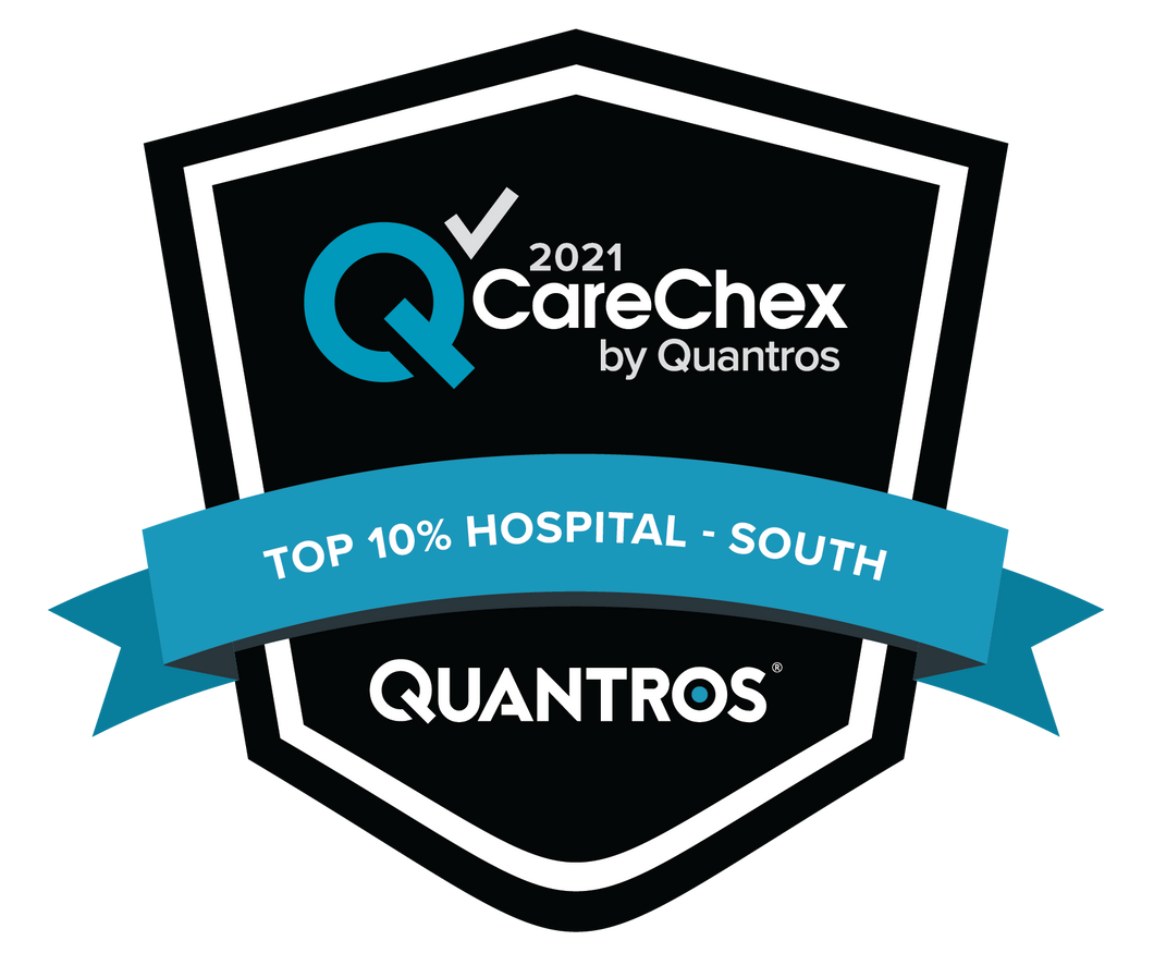 Top 10% Hospital in the South - Patient Safety