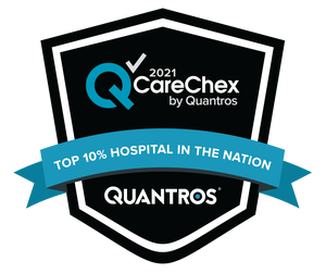 Top 10% Hospital in the Nation - Patient Safety