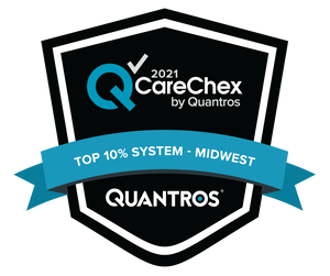 Top 10% System in the Midwest - Patient Safety