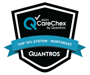 Top 10% System in the Northeast - Patient Safety