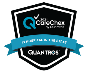 #1 Hospital in the State - Patient Safety