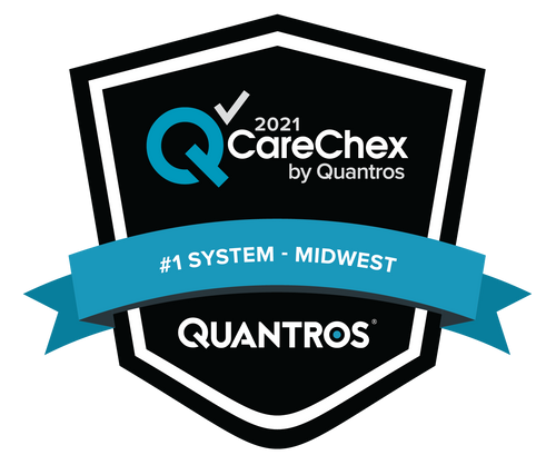 #1 System in the Midwest - Patient Safety