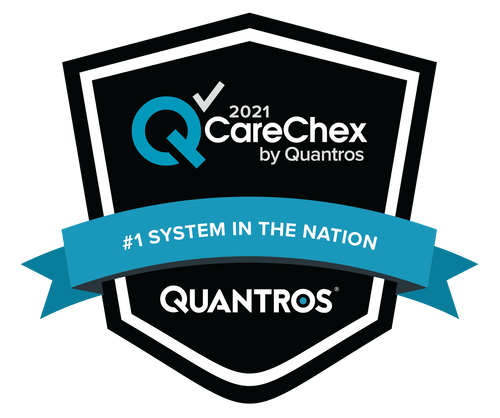 #1 System in the Nation - Patient Safety