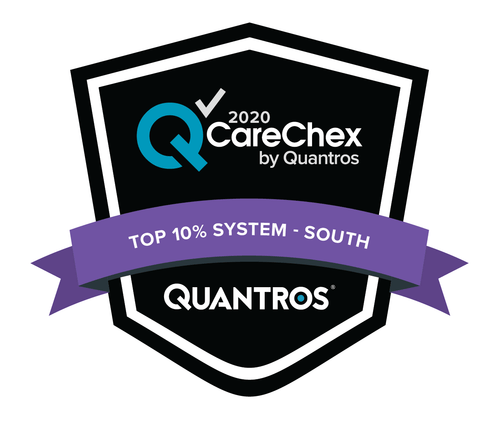 Top 10% System in the South - Medical Excellence