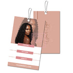 Blush Hang Tag Design