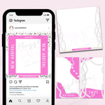 Fancy Girl Social Media Templates
