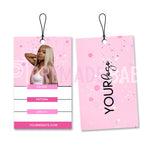 Pink Fever Hang Tag Design