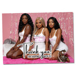 Pink Fever Thank you Card