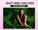 Beauty Model Stock Photo