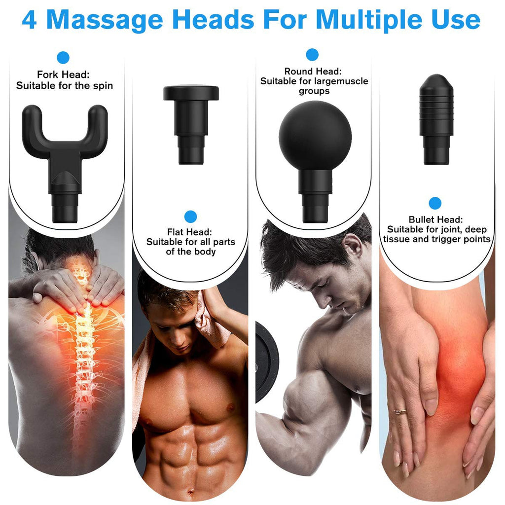 4 In One - Deep Muscle Massager
