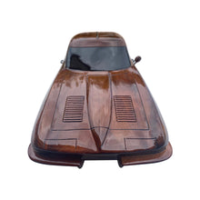 Load image into Gallery viewer, Corvette 1963 Stingray Mahogany Wood Desktop Model