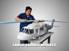 Load image into Gallery viewer, E-3A Sentry AWACS 1100 552d Air Control Wing Painted Aviation Models