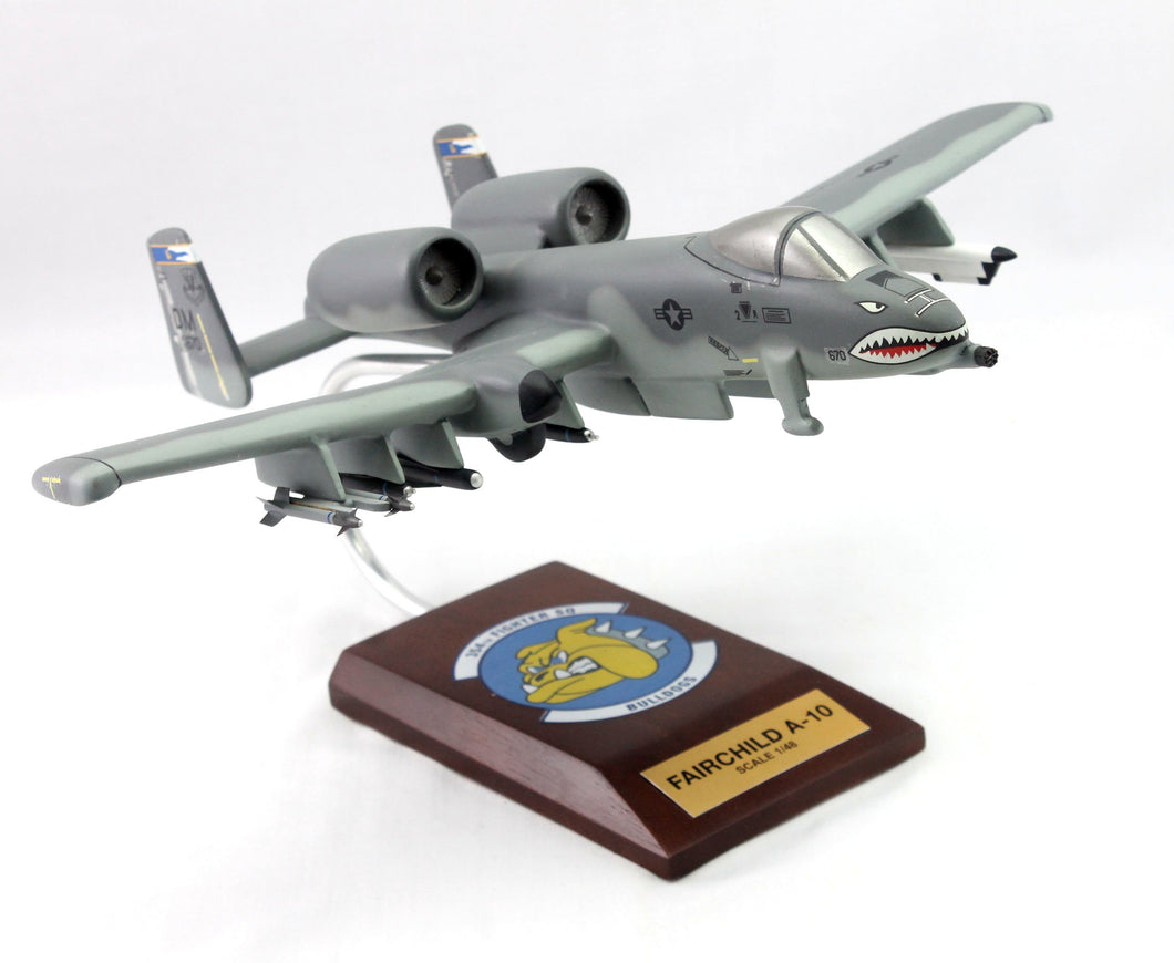 A-10 Thunderbolt 148 354th Fighter Squadron Painted Aviation Model Custom Made for you