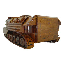 Load image into Gallery viewer, AAV7 Mahogany Wood Desktop Military Vehicles Model