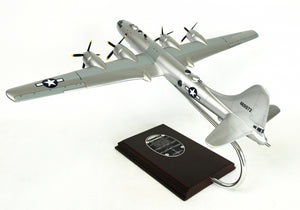 "Boeing B-29 Superfortress ""Doc"" Model Scale:1/72 Mahogany Wood Desktop Airplane Model"
