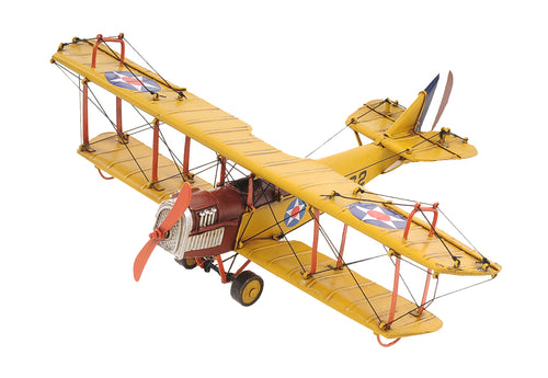 1918 Yellow Curtiss JN-4 1:24