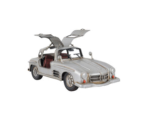 Mercedes Benz 300L Gullwing Silver Model