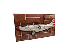Load image into Gallery viewer, 1943 Mustang P-51 Fighter 3D Model Painting Frame