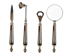 Load image into Gallery viewer, Set of 4: Magnifier Letter Opener Bottle Opener & Candle Snuffer