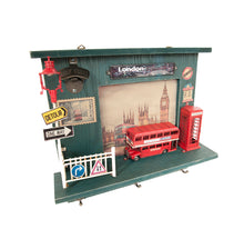 Load image into Gallery viewer, Vintage Double Decker London Bus Shadow Box