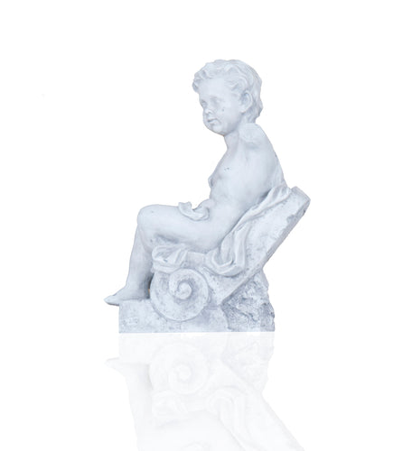 Anne Home - Boy Sitting Statue