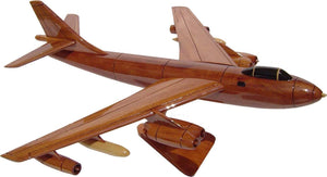 B47 Stratojet Mahogany Wood Desktop Aircraft Model