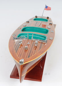 Chris Craft Triple Cockpit with Display Case