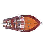 Load image into Gallery viewer, Riva Aquarama With RC Motor Medium