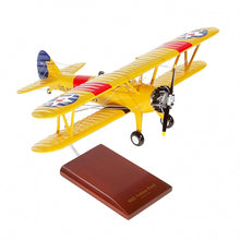 Load image into Gallery viewer, Boeing N2S-2/3/4 Stearman Yellow Peril Model Scale:1/24 Model Custom Made for you