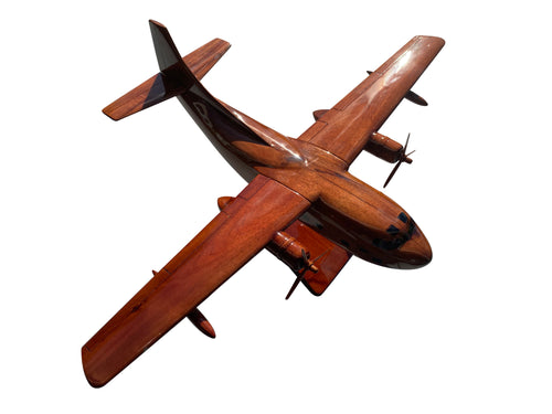 Fairchild C123 Provider Mahogany Wood Desktop Airplane Model