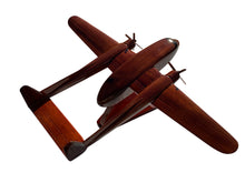 Load image into Gallery viewer, The C119 Flying boxcar Mahogany Wood Desktop Airplane Model