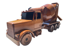 Load image into Gallery viewer, Concrete Mixer Mahogany Wood Desktop Airplane Model