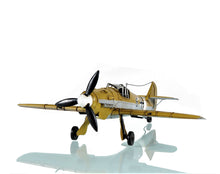 Load image into Gallery viewer, 1935 Messerschmitt BF 109 Fighter Mahogany Wood Desktop Airplane Model