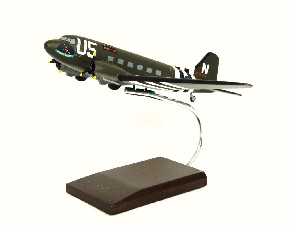 Douglas C-47 Skytrain Olive Drab Model Custom Made for you