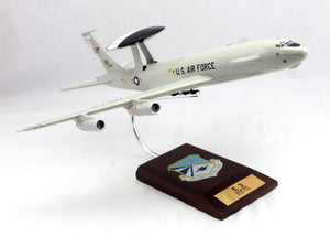 E-3A Sentry AWACS 1100 552d Air Control Wing Painted Aviation Models