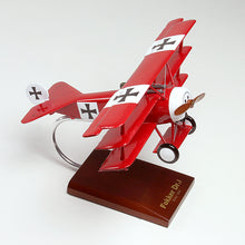 Load image into Gallery viewer, Fokker Dr 1 Red Baron Model Custom Made for you
