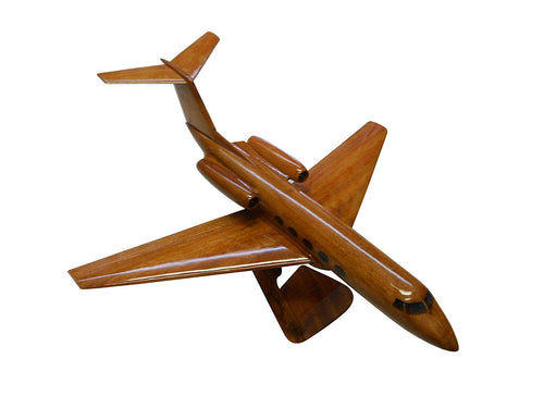 GII Wooden Mahogany Wood Desktop Airplane Model