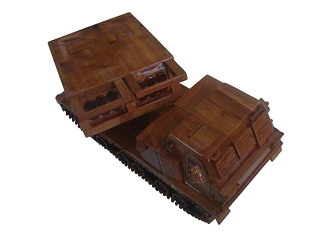 MLRS Mahogany Wood desktop model