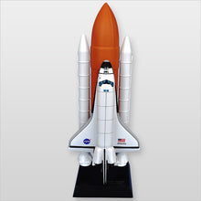 Load image into Gallery viewer, NASA Space Shuttle F/S Atlantis Model Wood Desktop Model Custom Made for you