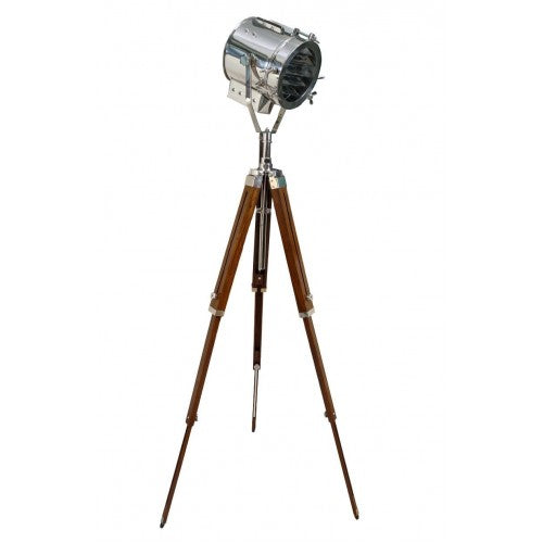Nautical Hollywood Spot Light Searchlight Studio Floor Lamp with Tripod Stand