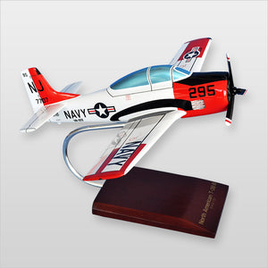 North American T-28B Trojan USN Painted Aviation Model Custom Made for you
