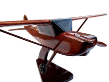 Load image into Gallery viewer, O1 Bird Dog Mahogany Wood Desktop Airplane Model