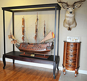 Display Case for XL ship no Glass