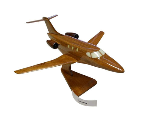 Premier IA Mahogany Mahogany Wood Desktop Airplane Model