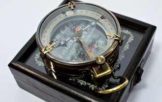 Stopper Caben  Map   Compass With   Black Box