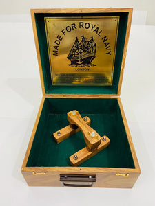Nautical Sextant made in Royal Navy