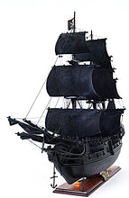 Load image into Gallery viewer, Black Pearl Pirate Ship Large With Floor Display Case